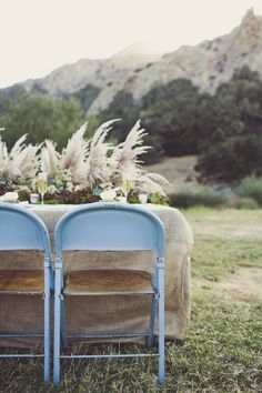 blue + burlap rustic goodness // photo by SarahKathleen.com
