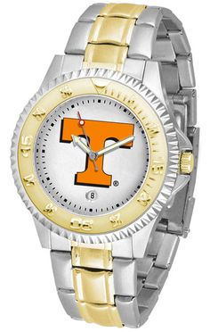 Tennessee Volunteers Men's Competitor Two-Tone Watch