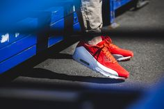 Nike - Air Max 90 Ultra Moire (rot / weiß) - 819477-611