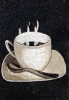 Hot Cup of Coffee Mosaic