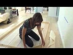 HOW TO MAKE A STRETCH CANVAS FREE LESSON Learn how to make a large canvas art - YouTube