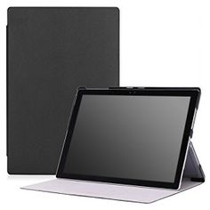 Microsoft Surface Pro 4 Case - MoKo Ultra Slim Lightweight Smart-shell Stand Cover Case for Microsoft Surface Pro 4 12.3 inch Tablet, BLACK: Amazon.co.uk: Computers & Accessories Microsoft Pro, Microsoft Surface Pro 4, Technology World, Technology Gadgets, Tech Gadgets, Surface Pro 4 Case, 10 Inch Tablet, Selfie Stick, Computer Accessories