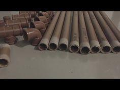 Toldo caseiro com canos de PVC barato e simples de fazer. - YouTube