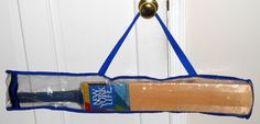 FOR SALE - New York Life Insurance Company Cricket Bat with Carrying Case