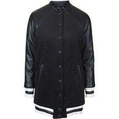 Longline Bomber Jacket by Kendall + Kylie at Topshop