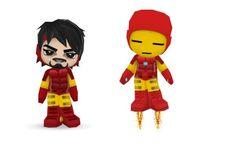 Iron Man Buddy Poke by Ben2DJammin.deviantart.com on @deviantART
