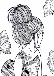 100 free coloring pages for adults and children -