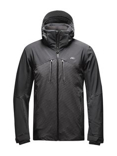 MEN RIDGE JACKET. The highly functional 2-layer Ridge #jacket features a well-thought-out climate control method: The schoeller pcm lining fabric acts as an active heat storage system and ensures perfect temperature control while skiing. The color-contrasting checkerboard pattern in 3D vision adds a trendy highlight. The 4-way stretch fabric is a guarantee for full #freedom of #movement.