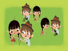 Floopaloo summer camp cervelloni music jinni