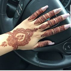 Beautiful and Easy Henna Arabic Mehndi Designs for every occasion - ArtsyCraftsyDad Pretty Henna Designs, Indian Henna Designs, Finger Henna Designs, Modern Mehndi Designs, Wedding Mehndi Designs, Henna Designs Easy, Mehndi Designs For Fingers, Arabic Mehndi Designs, Latest Mehndi Designs
