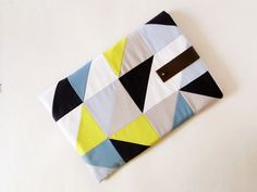 16 Stylish + Simple DIY Laptop Sleeves via Brit + Co