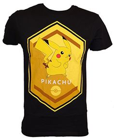 32055475ff Pokemon Pikachu Polygon T-shirt (Extra Large