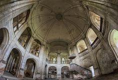 Opuszczony kościół ewangelicki w Goszczu (Dolnośląskie) - Podróże