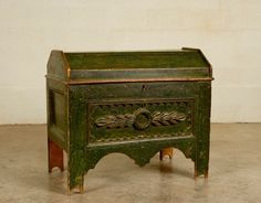 painted mexican furniture | 19th Century Painted Chest