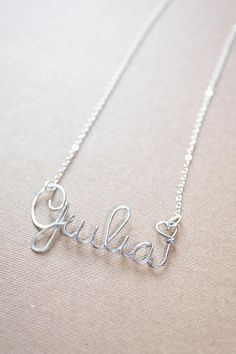 Custom Name Necklace Personalized Necklace Personalized Name