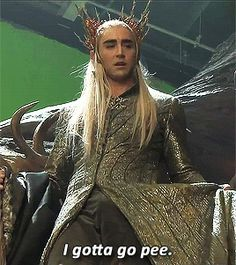 That time he admitted to us even Eleven kings are subject to human urges. | 25 Times Lee Pace Won Your Heart In 2014