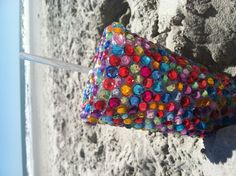 Bedazzled spring break cup! Keep your drink cold and your friends in awe. created by Breanne Brammer.