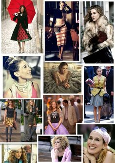 Carrie Bradshaw i love her and her style