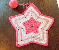 Little Pink Star Afghan
