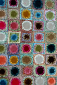 Sophie Digard crochet and velvet circles