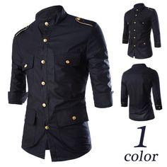 e571feee627f Camisa Meifeng Dragonas de Ouro Herren Mode, Wolle Kaufen, Kleidung, Hemden  Für Männer