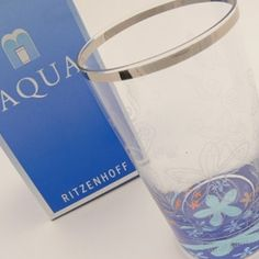 £13.49 Luca Casini water glass, delightful.