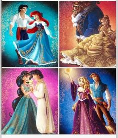 My favorite princesses