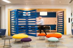 Commercial interior design firm Peldon Rose worked with JustGiving, an online charity fundraising site, to give them a modern, open plan office in London.