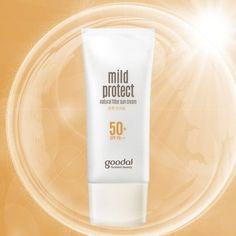 [GOODAL] Mild Protect Natural Filter Sun Cream