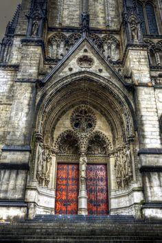 New York City Church Hermosa arquitectura
