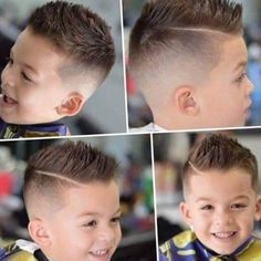 Revista de cortes de cabello para ninos