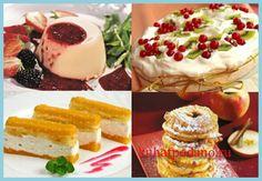 Рецепты низкокалорийных десертов - пять рецептов приготовления низкокалорийных десертов: желе из красного вина, малиновое желе, мусс из яблок, мусс из мака и самбук из чернослива...