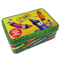 Crayola Small Storage Box #stellasaksa #crayola #kids #storage #box | Kids  Collection Sold By Stella Saksa | Pinterest | Small Storage Boxes, Kids  Storage ...
