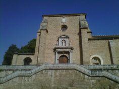 Portada de la Cartuja de Granada. 16 de agosto de 2012.