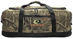 Hunting Duffle Bag Mossy Oak Lateleaf Large Hunting Gear Bag Bow Storage Travel* - http://sports.goshoppins.com/hunting-equipment/hunting-duffle-bag-mossy-oak-lateleaf-large-hunting-gear-bag-bow-storage-travel/