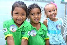 Alunos da Escola Municipal Laucides Oliveira fazem exames para diagnosticar hanseníase, verminoses e tracoma #pmbv #prefeituraboavsita #boavista #roraima