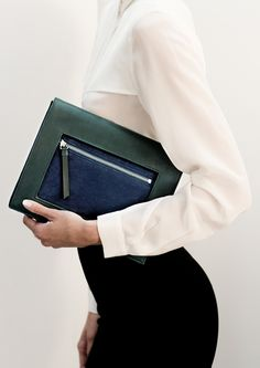 Square envelope clutch | & Other Stories