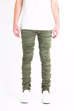 Cano Stacked Denim (Olive)