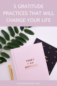 Discover how to begin a daily gratitude practice to add more joy and positive energy to your life! #gratitude #gratitudejournal #journalideas