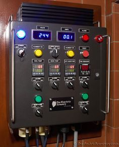 Control Panel - The Electric Brewery - some day I'll build one