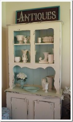 another hutch and display to love