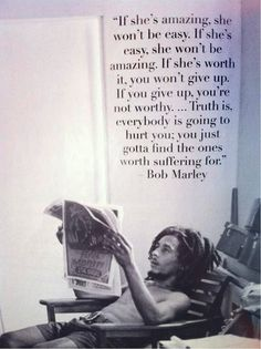 Wise words #BobMarley
