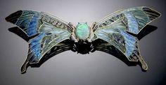 art nouveau Rene Lalique buckle Lalique Jewelry, Opal Jewelry, Jewelry Art, Vintage Jewelry, Fine Jewelry, Jewelry Design, Jewlery, Animal Jewelry, Handmade Jewelry