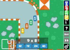 Reken Grand Prix - Tafels (multiplayer)