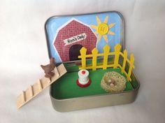 Chicken Altoids TinStocking StufferHen House by kattymoon on Etsy