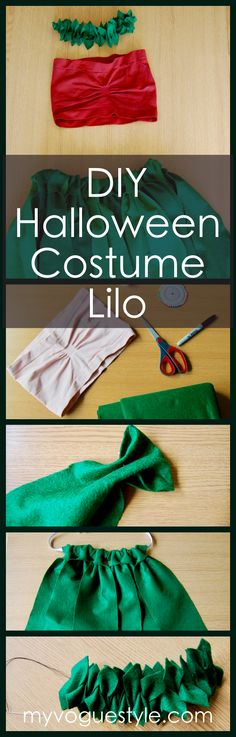 DIY Halloween Costume – Lilo My Vogue Style fashion blog