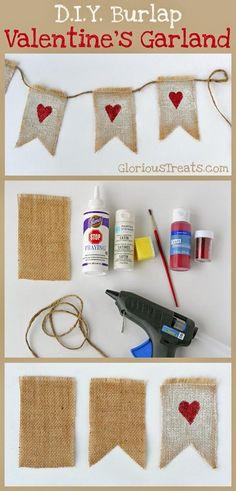 Diy: 3 ideas para decorar en san valentín