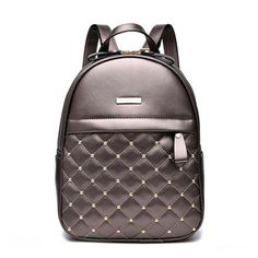 Cheap fashion leather backpack, Buy Quality leather backpack directly from China leather fashion backpack Suppliers: ACELURE Women Backpack Hot Sale Fashion Causal bags High Quality bead female shoulder bag PU Leather Backpacks for Girls mochila Faux Leather Backpack, Black Backpack, Backpack Bags, Pu Leather, Ladies Backpack, Vegan Leather, Studded Backpack, Leather Bags, Leather Fashion