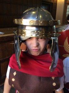 Roman gladiator inva