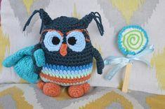 Night' Owl La Chouette et sa couverture crochet